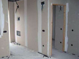 Выравнивание стен в квартире с помощью гипсокартона