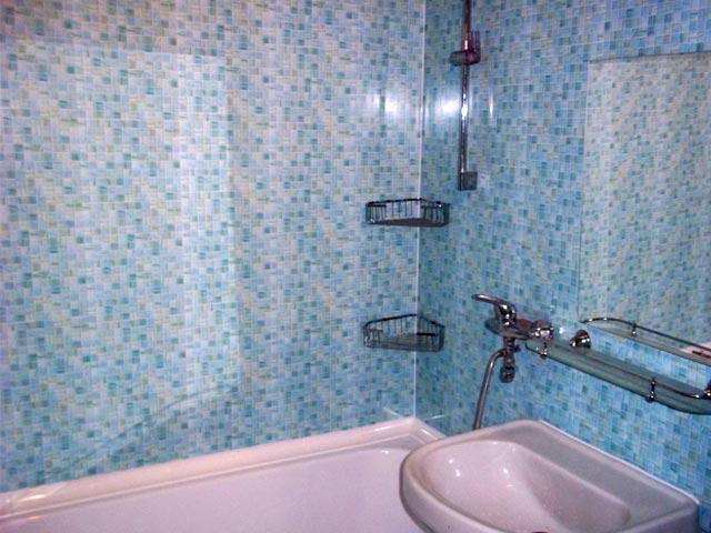 панели для ванной в виде мозаики