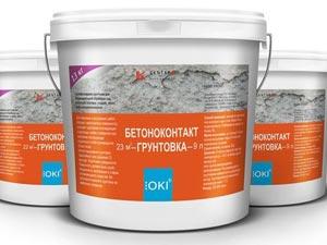 Технические характеристики грунтовки бетоноконтакт