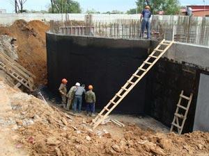 Наружная гидроизоляция стен