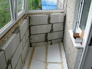 Проверка технического состояния балкона