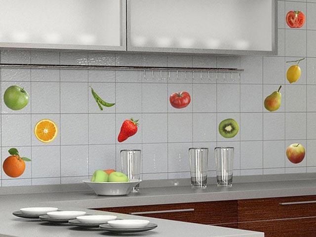 Цвет плитки для фартука