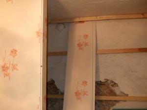 Крепление пластиковых панелей на стены